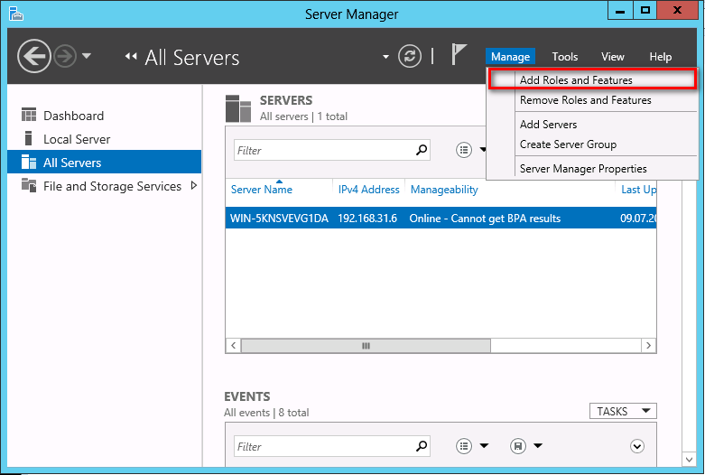 serveur de fichier windows 2012 pdf