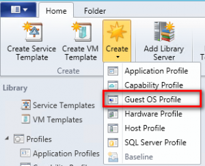 Figure 20: Create Guest OS Profile