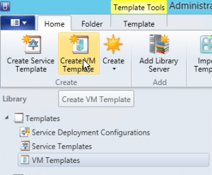 Figure 23: Create VM Template