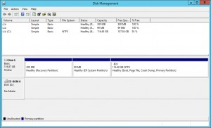 Figure 2: Disk Management