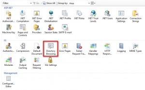 Figure 1: Directory Browsing