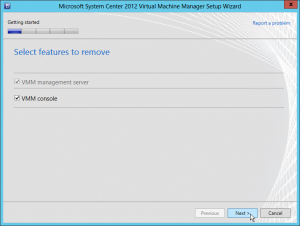 Figure 4: VMM Management Server et la Console