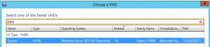 Figure 13: VHDX dédié à Hyper-V