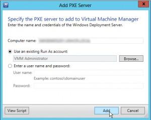 Figure 7: PXE Server Name
