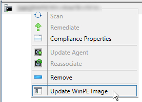 Figure 8: Update WinPE Image