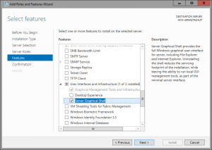 WS2016TP2: Ajout de l'interface graphique